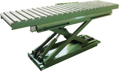 Piano pantografo con rulliera