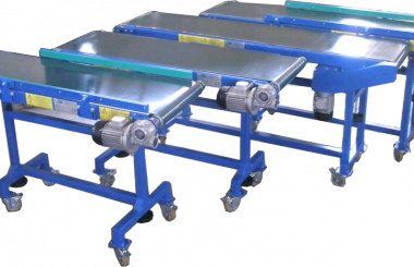 Multiple belt conveyors