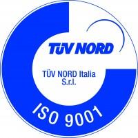 Certificazione ISO 9001 Tuv nord Italia