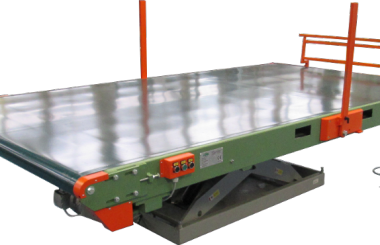 Height-adjustable belt conveyor
